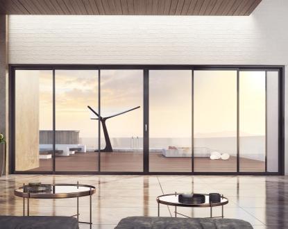 Višekrilni prozori ili balkonska vrata sa više od 4 klizna krila