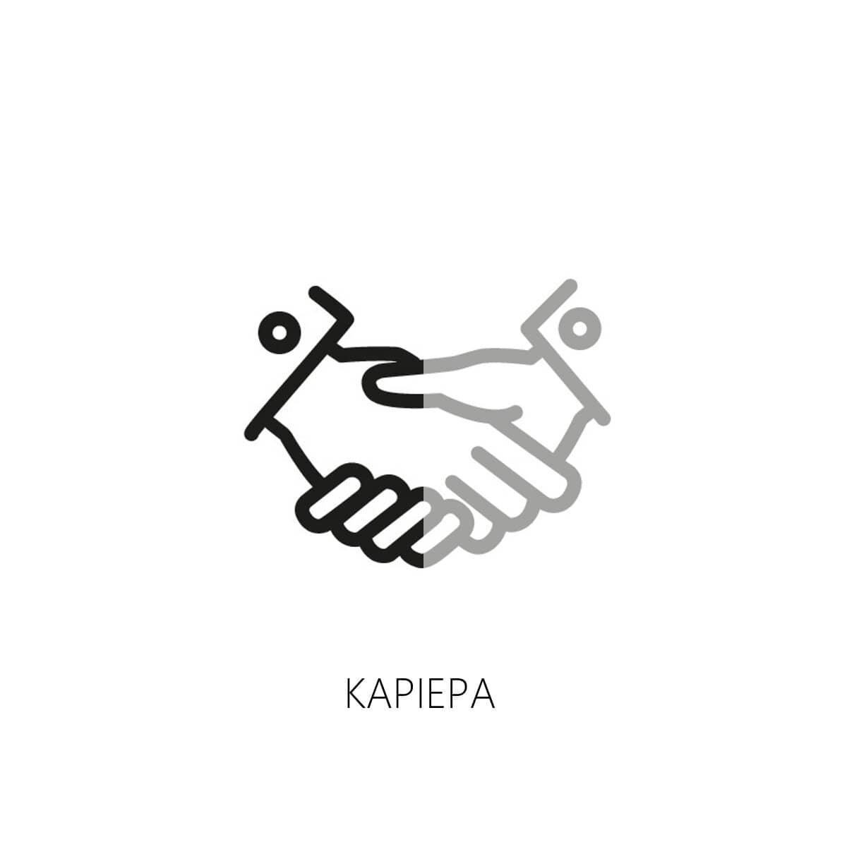 Δύο άνθρωποι που δίνουν τα χέρια κλίνοντας μία νέα συμφωνία και δείχνοντας μία επιτυχημένη επαγγελματική καριέρα