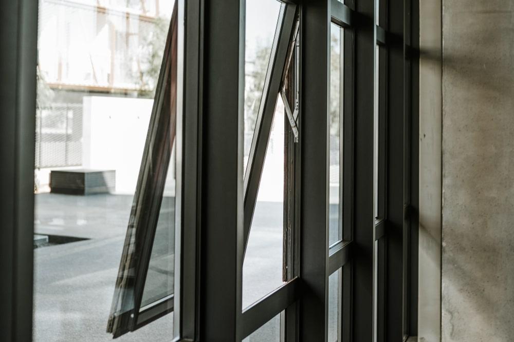 Outward open window