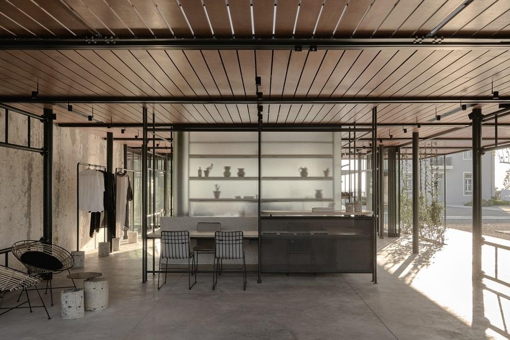 Bar and terrace