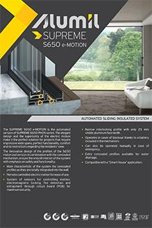 SUPREME S650 e-motion
