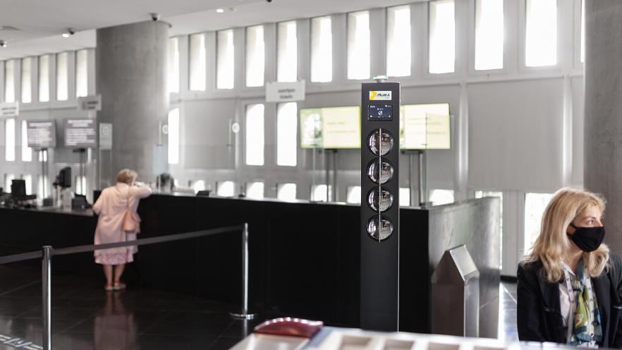 Acropolis museum lobby