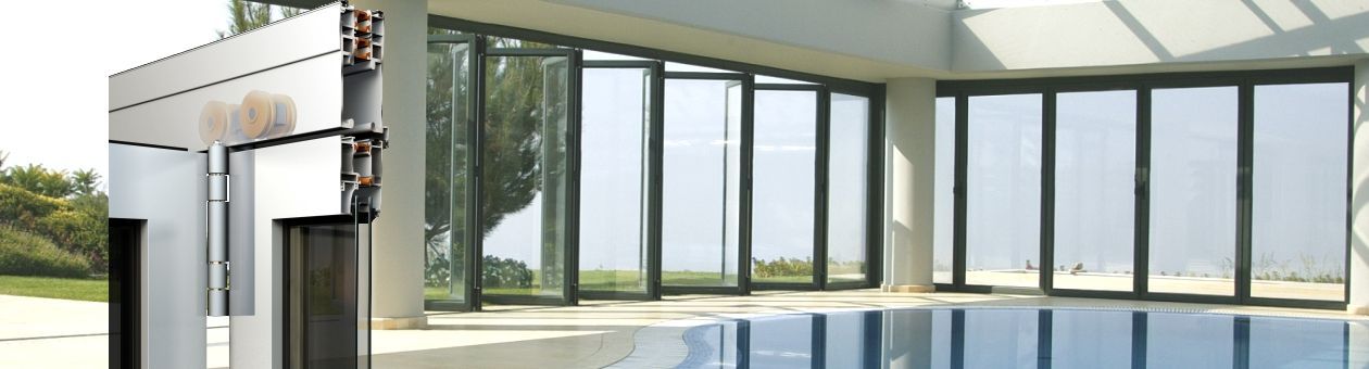 SMARTIA M19800 Insulated Folding Doors
