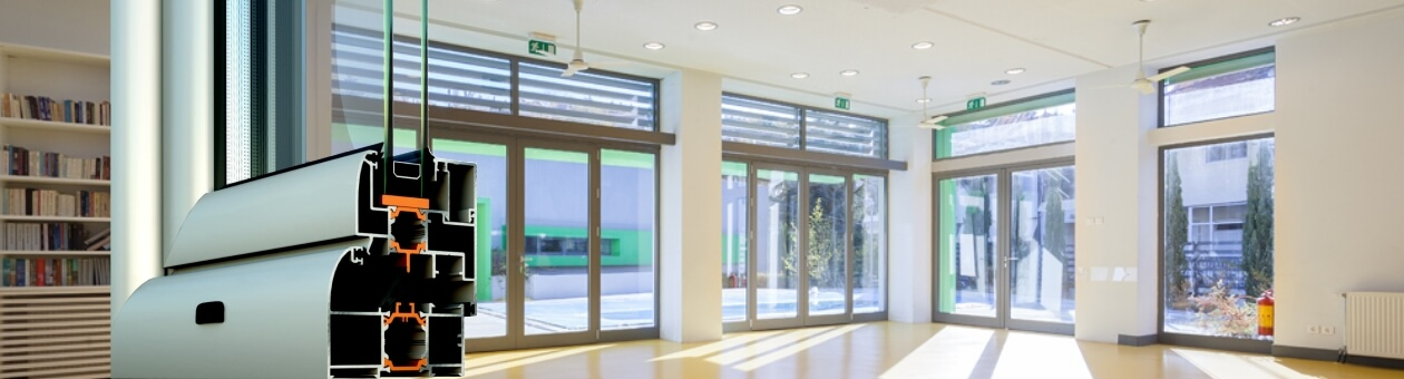 Entrance doors insulated system COMFORT M20000