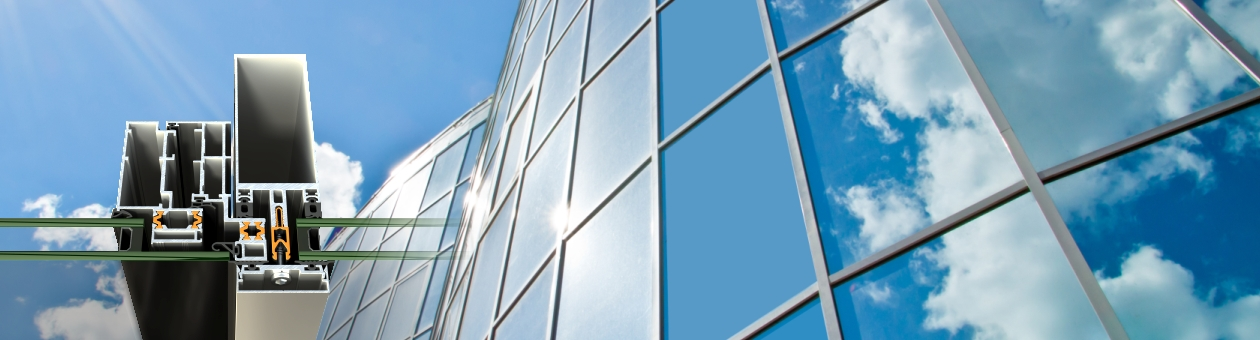High-performance Curtain Wall system SMARTIA M7