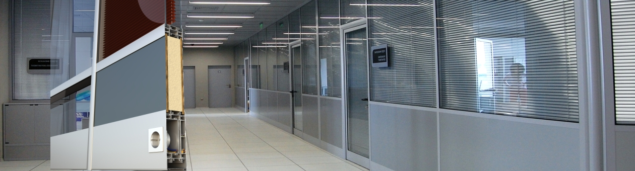 SMARTIA P100 Office Partitioning