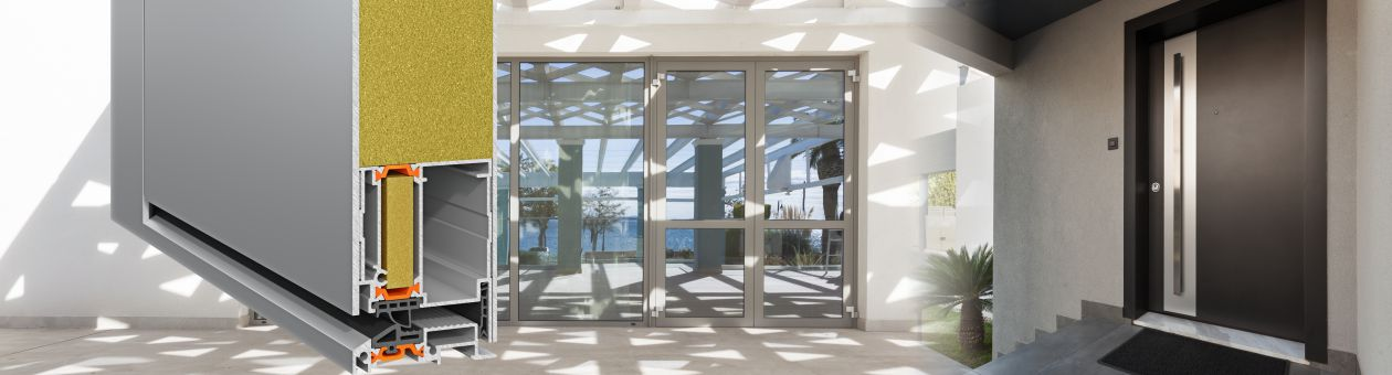 Entrance doors insulated system SMARTIA MD67