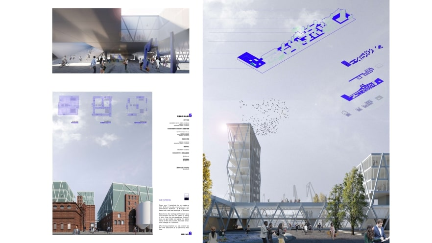 Second plate of the first prize of ArXellence 2: The Lodge, created by Alejandro Piqueras
