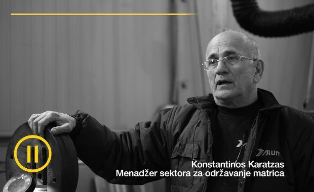 Menadzer sektora za odrzavanje matrica | Konstantinos Karatzas