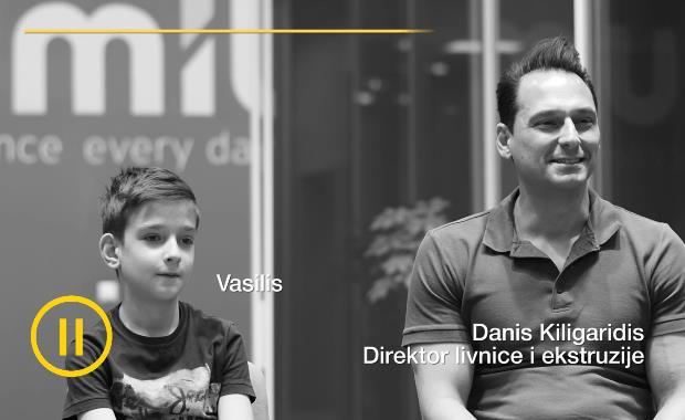Direktor Livnice i Ekstruzije: Dani Kiligaridis