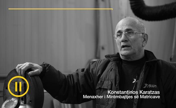 Menaxher i Mirëmbajtjes së Matricave | Konstantinos Karatzas
