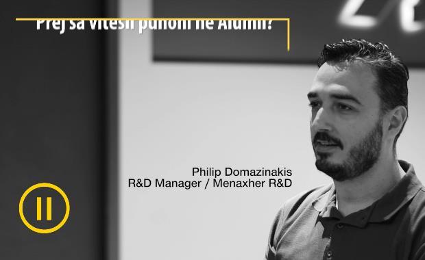 Menaxher R&D | Philip Domazinakis