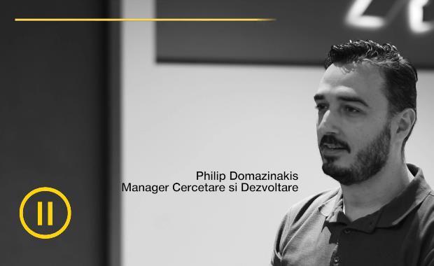 Manager Cercetare si Dezvoltare | Philip Domazinakis