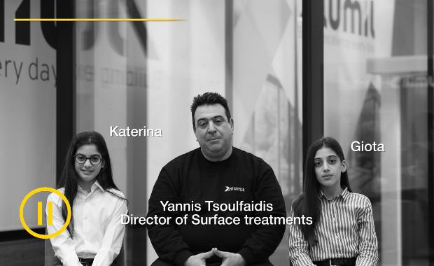 Director of Surface Treatments | Yannis Tsoulfaidis