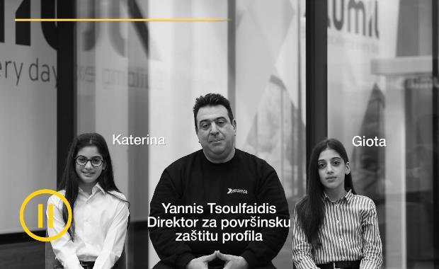 Director za povrsinsku zastitu profila | Yiannis Tsoulfaidis