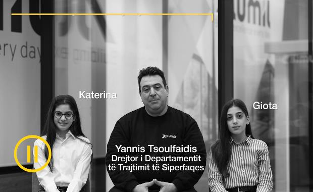Drejtor i Departamentit të Trajtimit të Siperfaqes | Yannis Tsoulfaidis