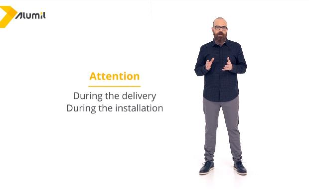 Installation, delivery and maintenance instructions